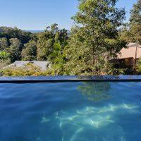 concrete above ground pool build sunshine coast